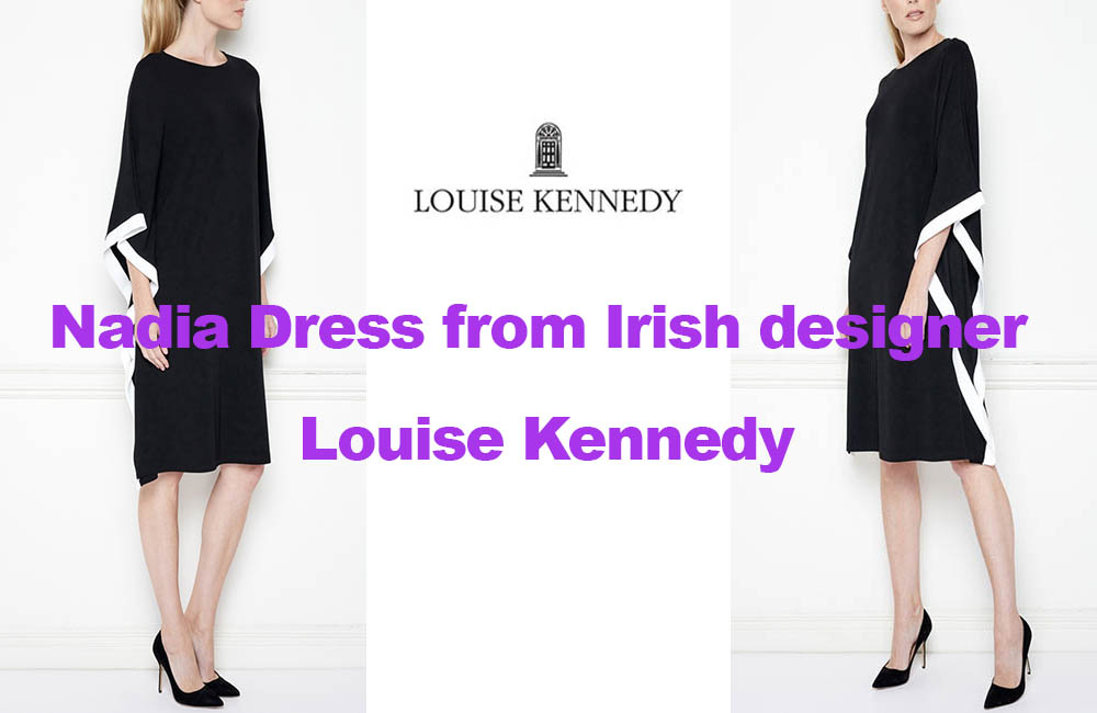 Nadia dress from Irish designer Louise Kennedy