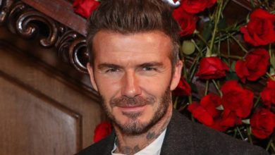 New David Beckham suit range inspired by Peaky Blinders