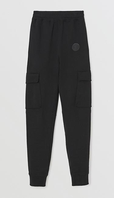 Pocket Detail Cotton Jersey Trackpants from Burberry