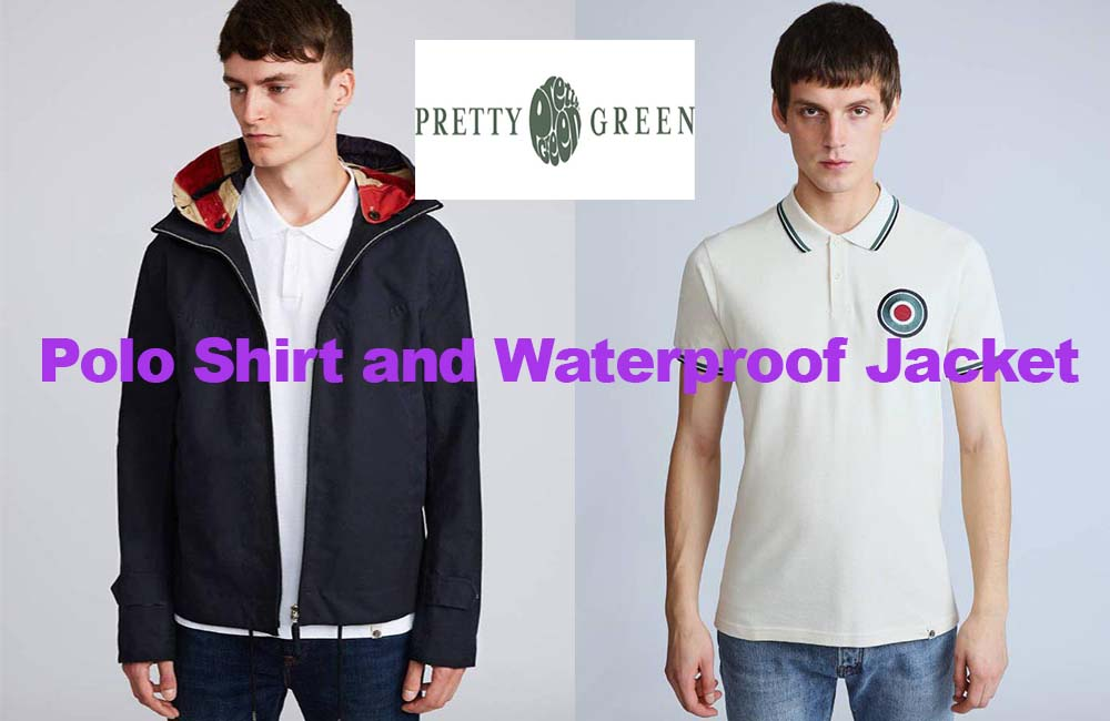Polo shirt and jacket from Pretty Green