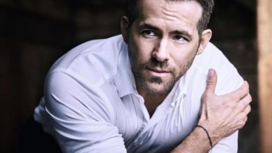 Ryan Reynolds is the new face of Armani Code fragrances