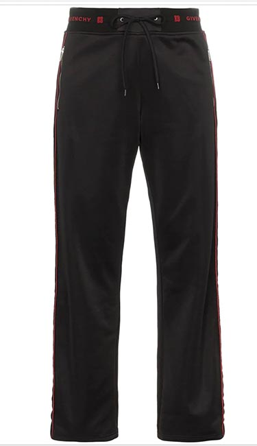 Side-stripe logo track pants from Givenchy