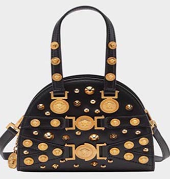 Stud Tribute Bag from Versace