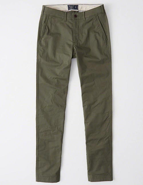 Super Skinny Chino Pants from Abercrombie & Fitch