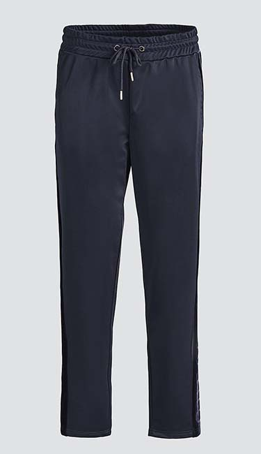 Velvet Detail Trousers from Guess