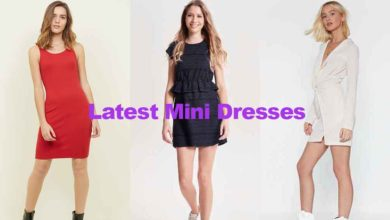 Fashion review latest new teenage mini dresses