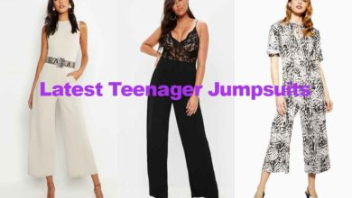 Fashion review latest wide leg teenage jumpsuits