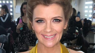 Jane Danson faints during Dancing On Ice rehearsal