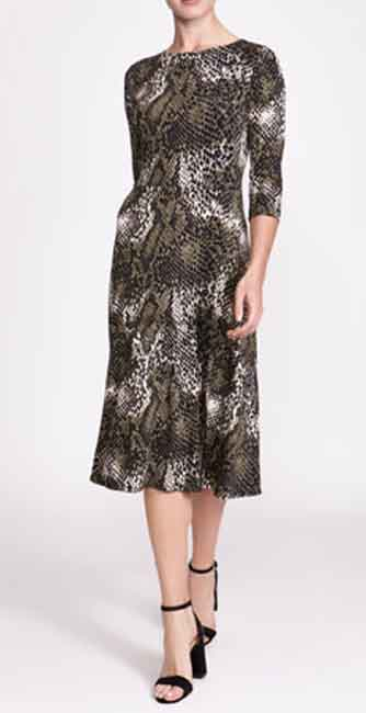 Printed Midi Dress from Dunnes Stores