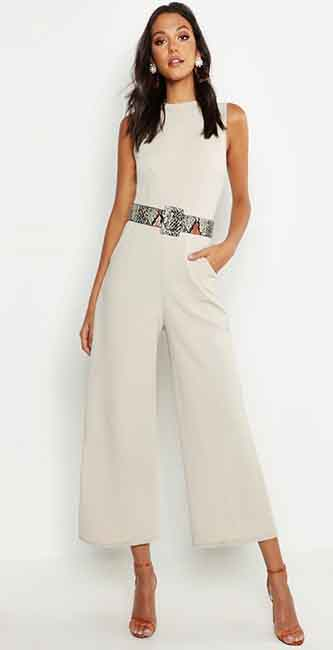 Tall Tailored Jumpsuit from Boohoo
