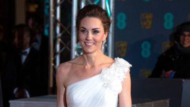 Duchess of Cambridge wears Princess Diana's earrings to BAFTAs